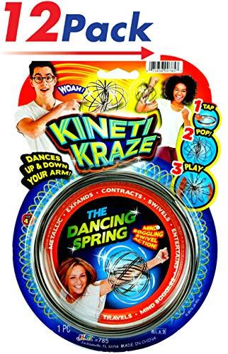 JA-RU Flow Kinetic Ring (Pack of 12) ToroFun Game or Arm Slinky  Item #785-12 ()