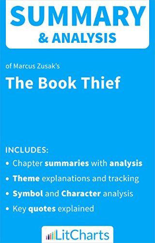 Amazon Summary Analysis Of The Book Thief By Markus Zusak