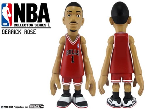 Mindstyle NBA Vinyl Figure Derrick Rose Blank Variant by NBA