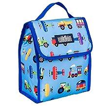 Wildkin Olive Kids Trains/Planes/Trucks Munch N Lunch Bag