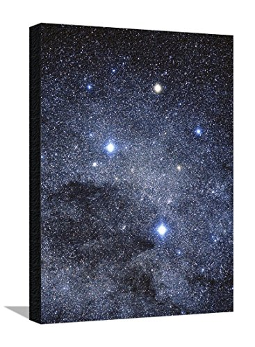 the-constellation-of-the-southern-cross-stretched-canvas-print-by-luke-dodd-18-x-24-in