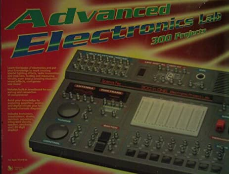 Amazon.com : Science Fair Advanced Electronics Lab 300 Projects ...
