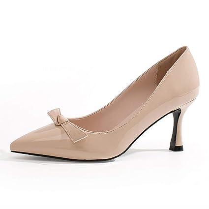nuovo di zecca f907a 62280 Scarpe donna HWF Scarpe basse con tacchi alti femminili ...