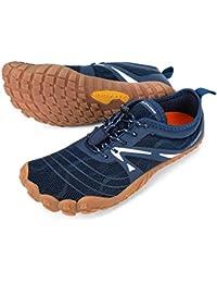 Men's Minimalist Trail Running Shoes Barefoot   Wide Toe   Zero Drop