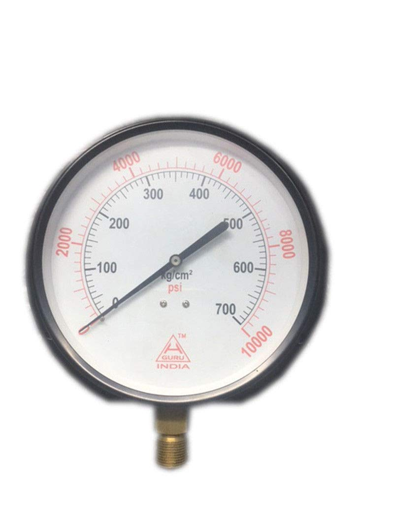 Pressure Gauge Dual Scale 0-700 BAR / 0-10000 PSI Ideal for Common Rail New