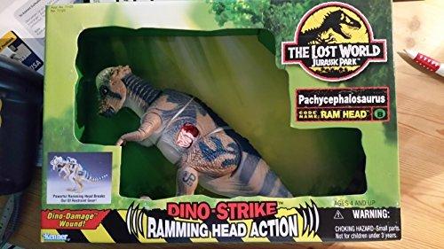 Jurassic Park The Lost World Dino-Strike Pachycephalosauras (Ram Head)
