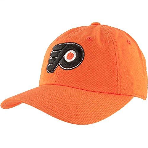 American Needle Blue Line NHL Team Dad Hat, Philadelphia Flyers, Orange (40742A-PHF)