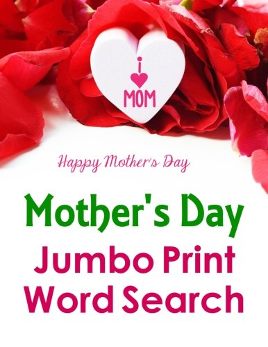 Mothers Jumbo Print Search Puzzle product image