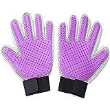 Pet Grooming Glove - Grade A Rubber Gentle...