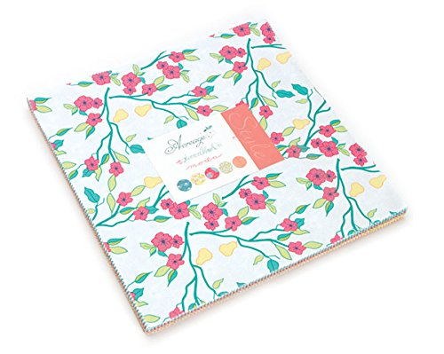Acreage Layer Cakeテつョ 42 - 10 Precut Fabric Quilt Squares By Shannon Gillman Orr by modaの商品画像