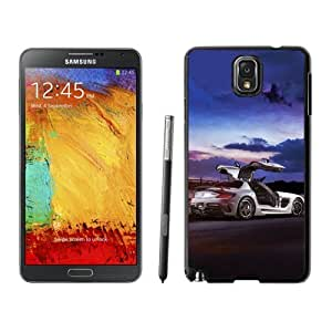 NEW Unique Custom Designed Samsung Galaxy Note 3 N900A N900V N900P N900T Phone Case With Mercedes SLS AMG Coupe Black Series_Black Phone Case