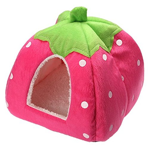 Strawberry Cotton Small Pet House product image
