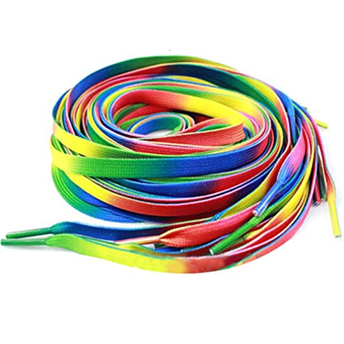 Wispun Multi colors Shoelaces Sneakers Shoelace