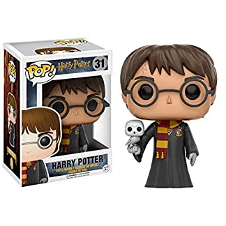 Figurine Pop ! Harry Potter 31 - Harry Potter (avec Hedwige)