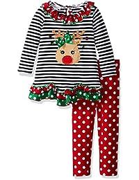 Girls' Reindeer Knit Set,