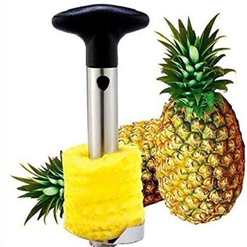 Pineapple Easy Gadget Fruit Peeler Cutter Corer Slicer Cutter Stainless Steel Kitchen