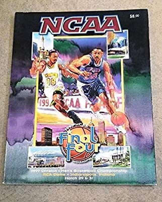 Ncaa Final Four Basketball Program 1997 - Arizona Kentucky Carolina - Near Mint