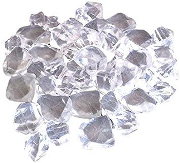 Efydis EF 017 Pietre di sintesi trasparenti in fibra di vetro 500 g di decorazione per caminetti elettrici