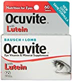 Cheap Bausch + Lomb Ocuvite Eye Vitamin and Mineral Supplement with Lutein, 60 Count Bottle