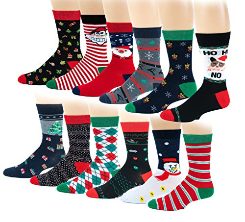 12 Pairs / 6 Pairs Colorful Fashion Design Dress socks...