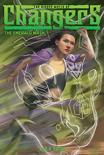 The Emerald Mask (The Hidden World of Changers Book 2) - Scary Japanese Mask