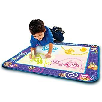 Aquadoodle Drawing Mat With Neon Color Reveal Epic Kids Toys