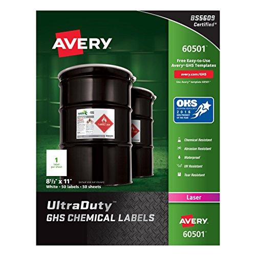 Avery UltraDuty Waterproof Resistant 60501