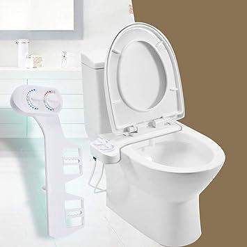 Bidet Attachment Funchic Bidet Attachment For Toilet Attachable Toilet Bidet Non Electric Bidet Attachment With Self Cleaning Nozzles Amazon Com
