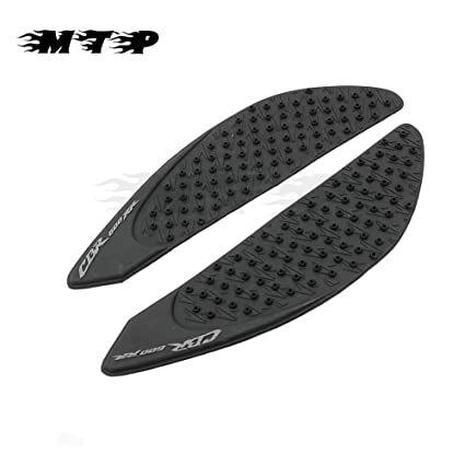 Gas Tank Traction Side Pad Gas Fuel Knee Grip Protector for 2007-2012 Honda CBR 600RR
