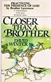 Closer Than a Brother, David Winter, 0877881294