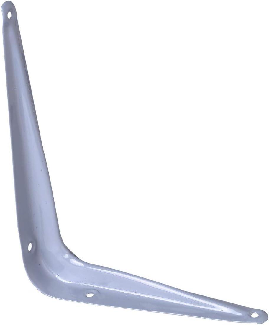 Console /équerre laqu/ée grise Jardinier Massard Dimensions 100 x 125 mm