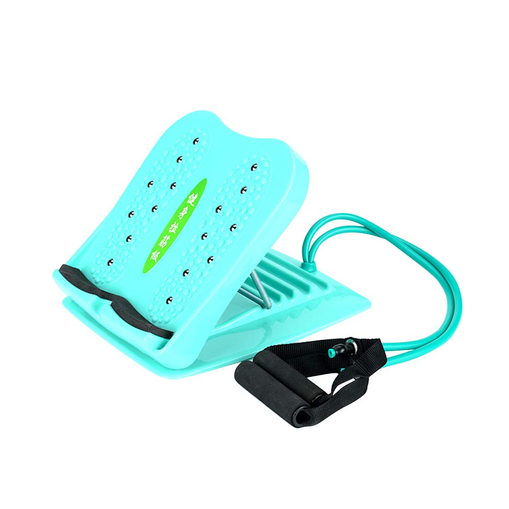 Healifty Calf Stretcher Portable Slant Board Adjustable Incline Boards and Calf Ankle Stretcher with Pulling Rope Anti-Slip Design 4 Positions Foot Stretch Wedge Board