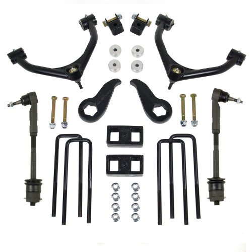 "Readylift 69-3422 4"" Front/1"" Rear A-Arm Lift Kit for Chevy Silverado 3500 HD"