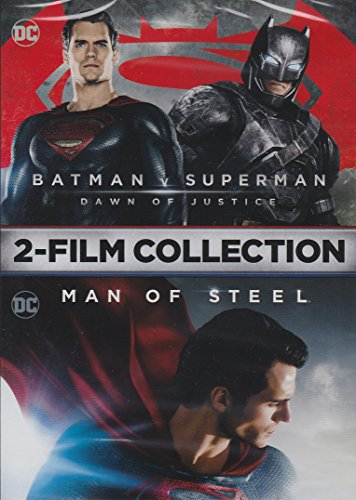 Batman v Superman Dawn of Justice / Man of Steel 2-Film Collection