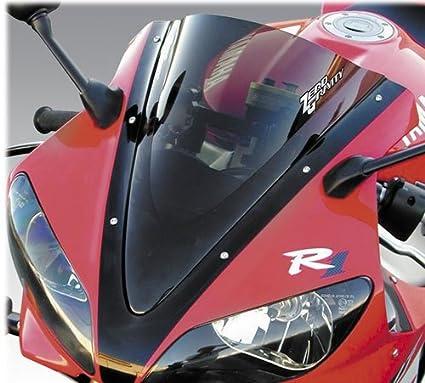 Yamaha YZF-R1 04-06 MPW Double Bubble Black Windshield Screen