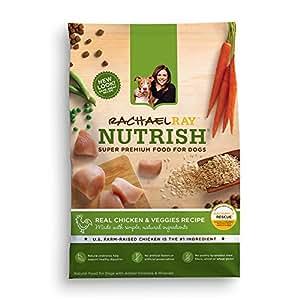 Rachael Ray Nutrish Natural Dry Dog Food, Chicken & Veggies Recipe, 6 lbs