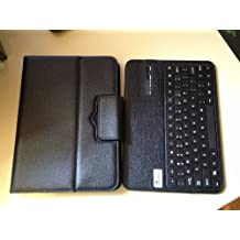 "myBitti Samsung Galaxy Tab 3 10.1"" Inch Portfolio Case with Removable Bluetooth Keyboard with stylus pen"