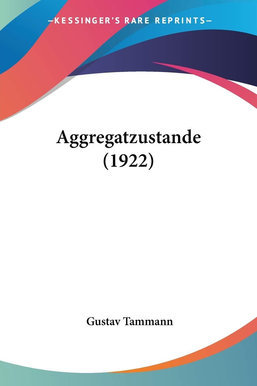 Amazon.com Aggregatzustande 20 German Edition ...