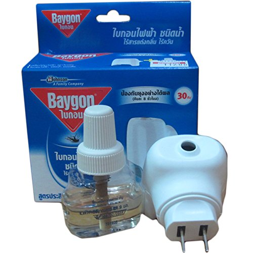 """""""HITHOT"""" Baygon Liquid Electric Mosquito Repeller 30 Days 0.77 Oz"""