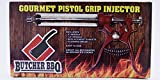 Butcher BBQ Pistol Grip Gourmet Meat Injector Metal Handle 50cc Pistol...