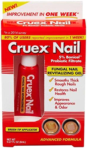 Cruex Fungal Nail Revitalizing Gel-Clear Amber-8 ml by Cruex (Image #2)