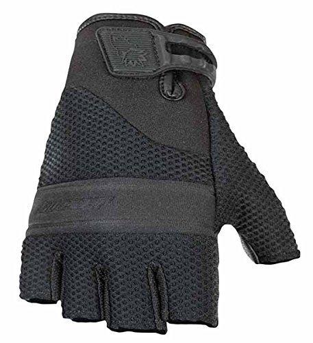 Black Joe Mesh Rocket Glove (Joe Rocket Vento Fingerless Gloves (XX-LARGE) (BLACK))