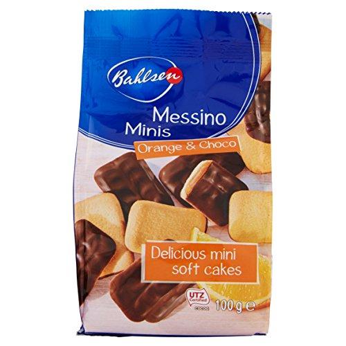 Biscoito com Recheio de Laranja e Cobertura de Chocolate Bahlsen Pacote 100g