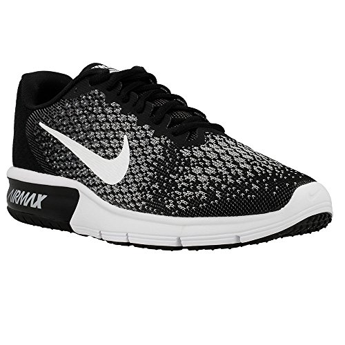 Nike Air Max Sequent 2, Zapatillas de Trail Running Para Hombre, Multicolor (Black/White/Dark Grey/Wolf Grey 005), 47 EU