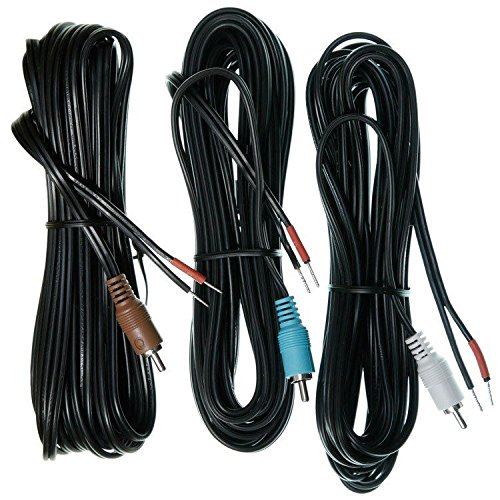 Bose Front Speaker Cables: Left Center Right - Black (294520-1201)