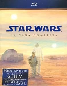 Star Wars - La Saga Completa (9 Blu-Ray) [Italia] [Blu-ray]