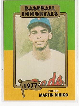Martin Dihigo Negro League Baseball Immortals Card Cuban