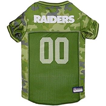 93596c2c1 Amazon.com   NFL Oakland Raiders Camouflage Dog Jersey
