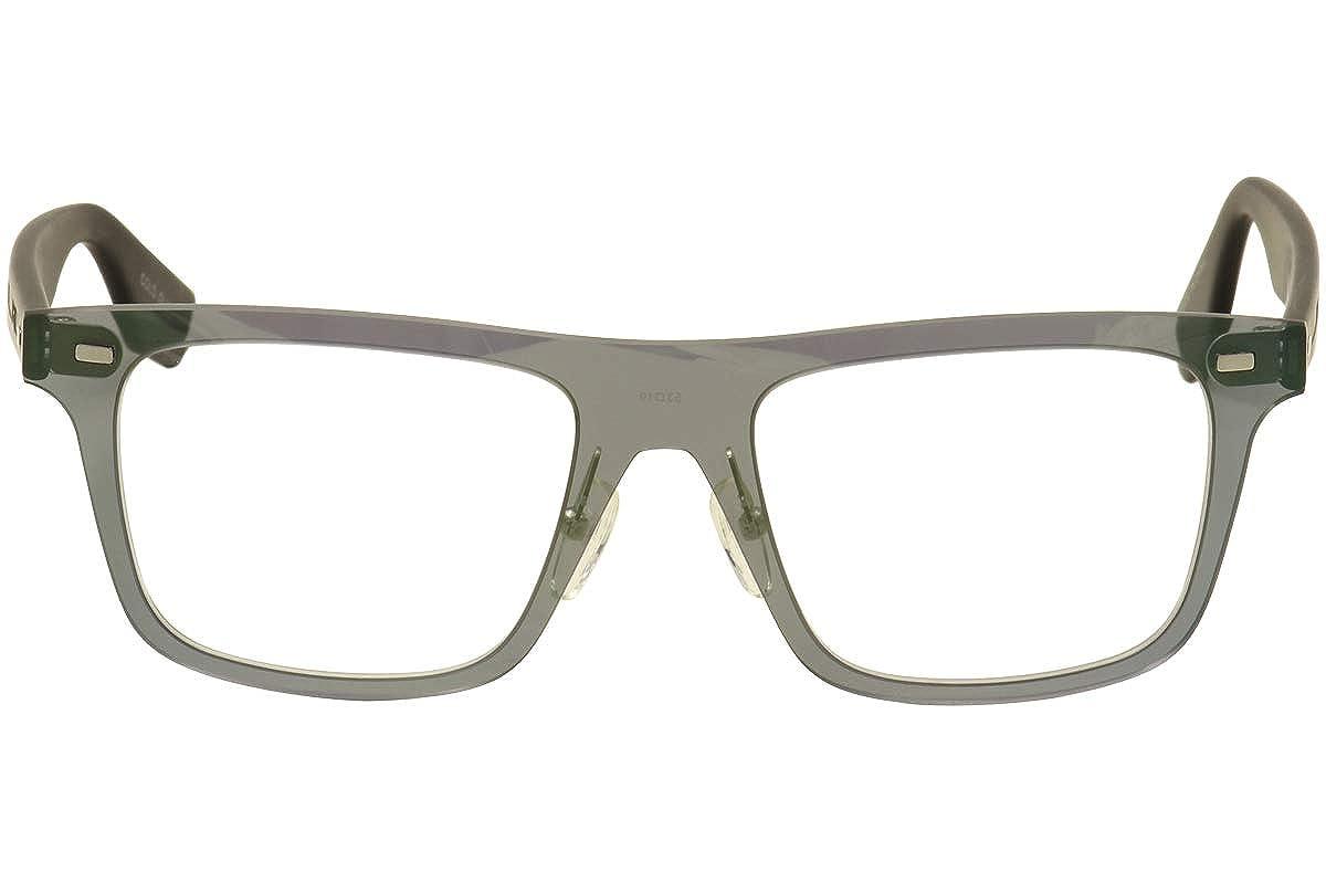 BLACK Eyeglasses Alexander McQueen MQ 0024 O 002 GREEN