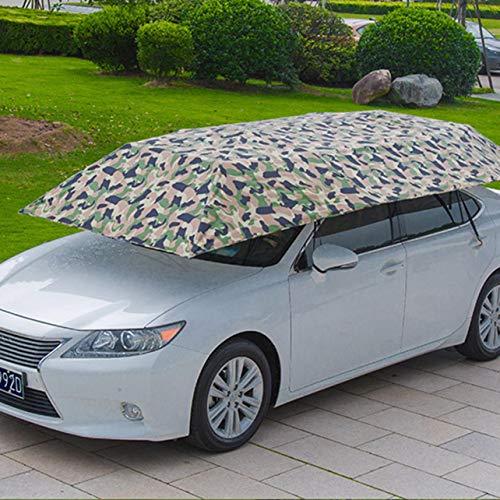 WOSOSYEYO Semi-Automatic Car Tent Umbrella with Remote Control Foldable Anti-UV Canopy Cover from WOSOSYEYO